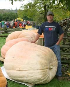 2014 Giant Pumpkin 1st Place BC