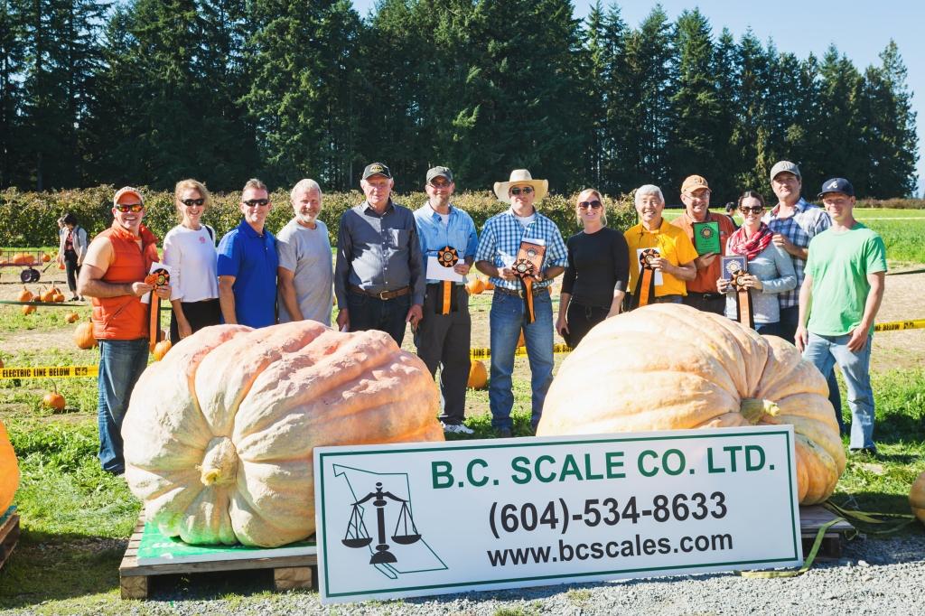 2015 Giant Pumpkin Weigh Off Langley Growers